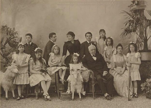 La famille Lesseps/Nadar